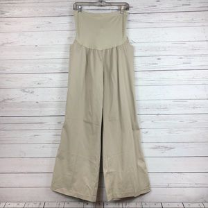NWT Motherhood Stretch Fitted Bootcut Tan Pants